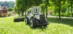MB Trac 1100 im Mäheinsatz_12